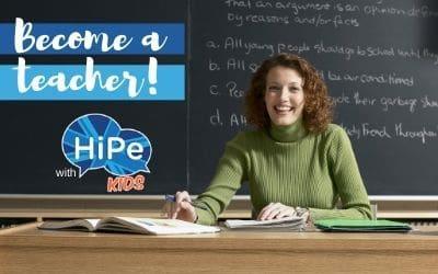teacher training with HiPe Kids